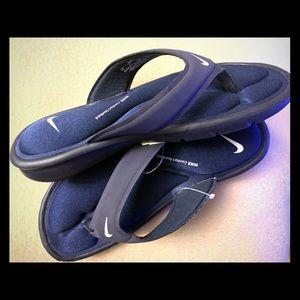Nike Dark Blue slippers size 7 US Women